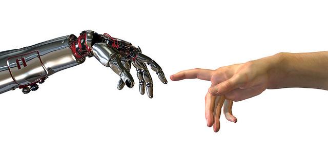 Robots and human hand