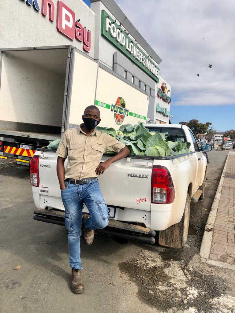 Mondi Zimele's Covid-19 support fund connected farmers with markets to sell excess produce